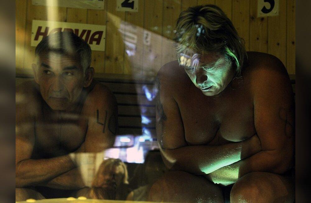 Leilivõistlusel surnud venelane määris end rasvaga