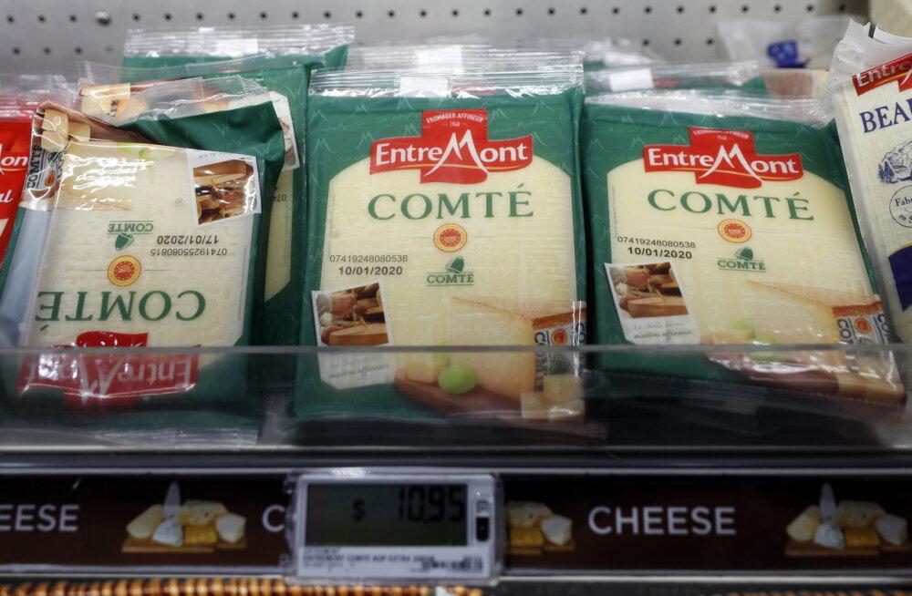 USA ähvardab Prantsusmaad tollitariifidega muu hulgas juustule ja vahuveinile