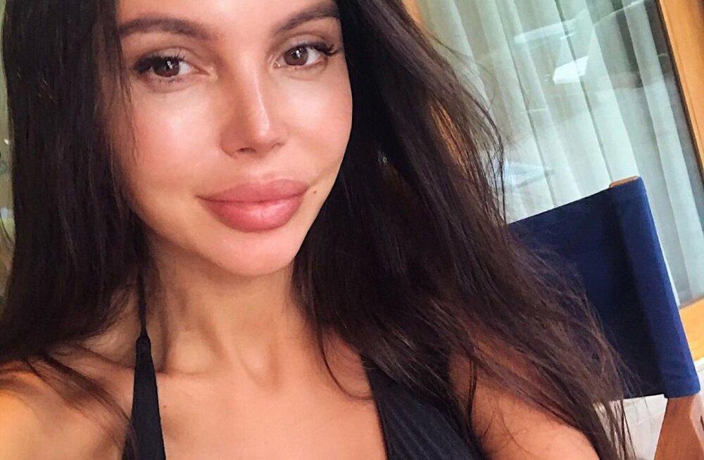 Оксана Самойлова энергично станцевала с мамой