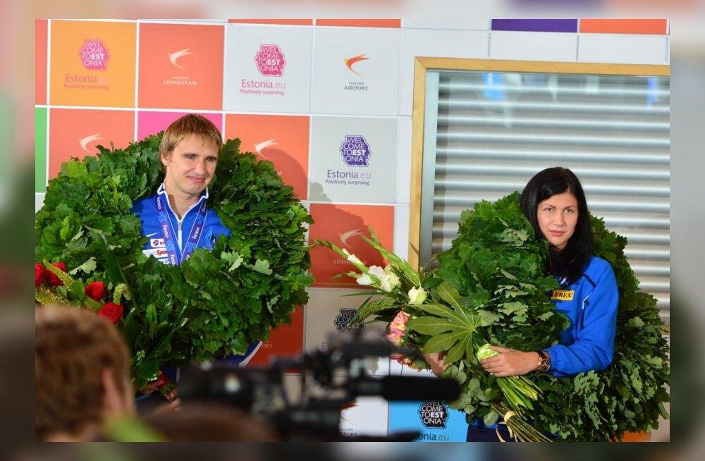 Nikolai Novosjolov ja Julia Beljajeva