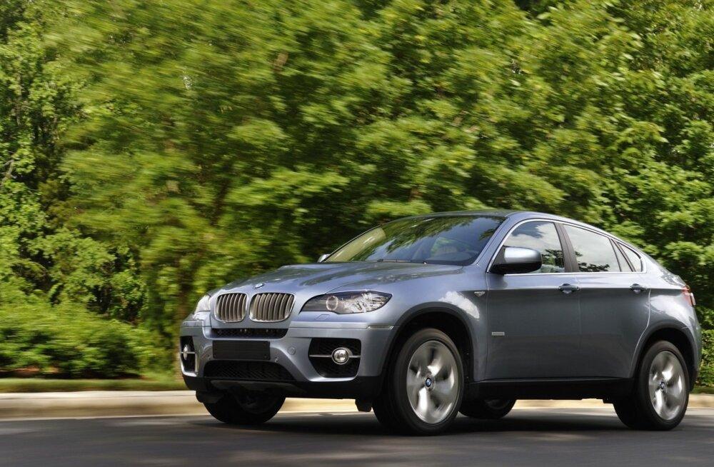 BMW ActiveHybrid X6 2
