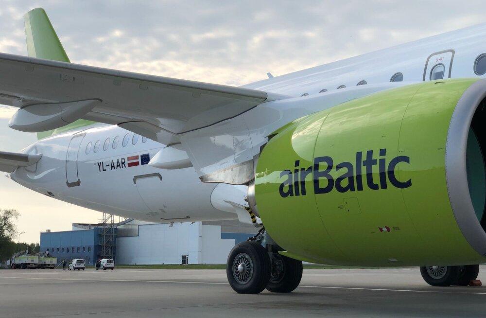 Хорошая новость! airBaltic планирует возобновить регулярные полеты уже в мае