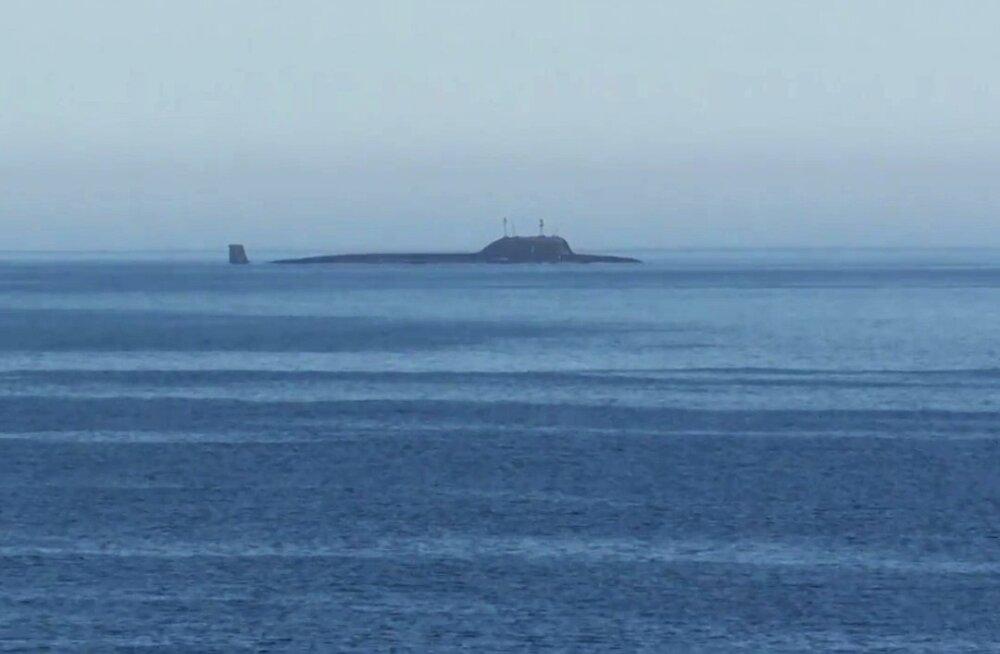 Venemaal on Norra teatel käimas suurim allveelaevaoperatsioon pärast nõukogude aega