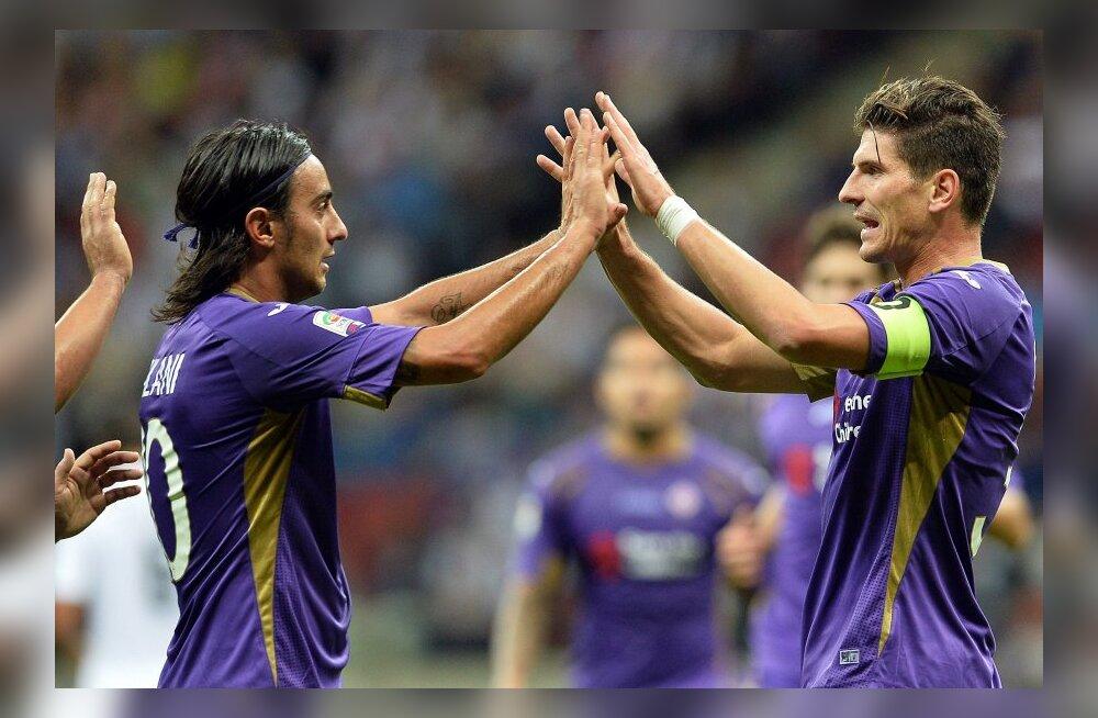 VIDEO: Fiorentina üllatas sõprusmängus Madridi Reali