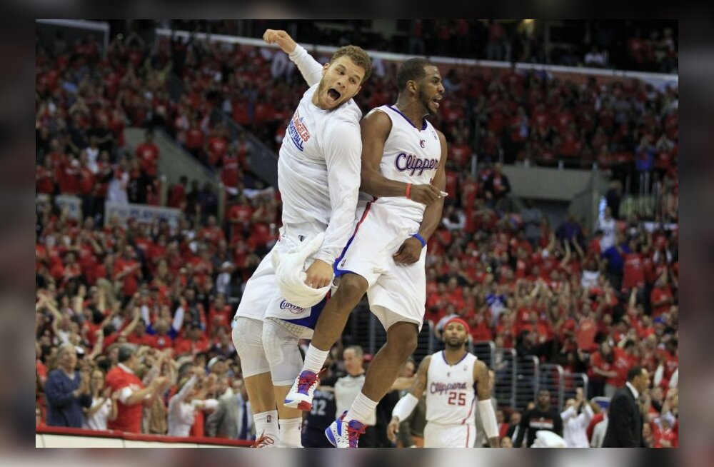 NBA TOP: Millised söödud ja pealtpanekud! Clippers lustis Lakersi vastu
