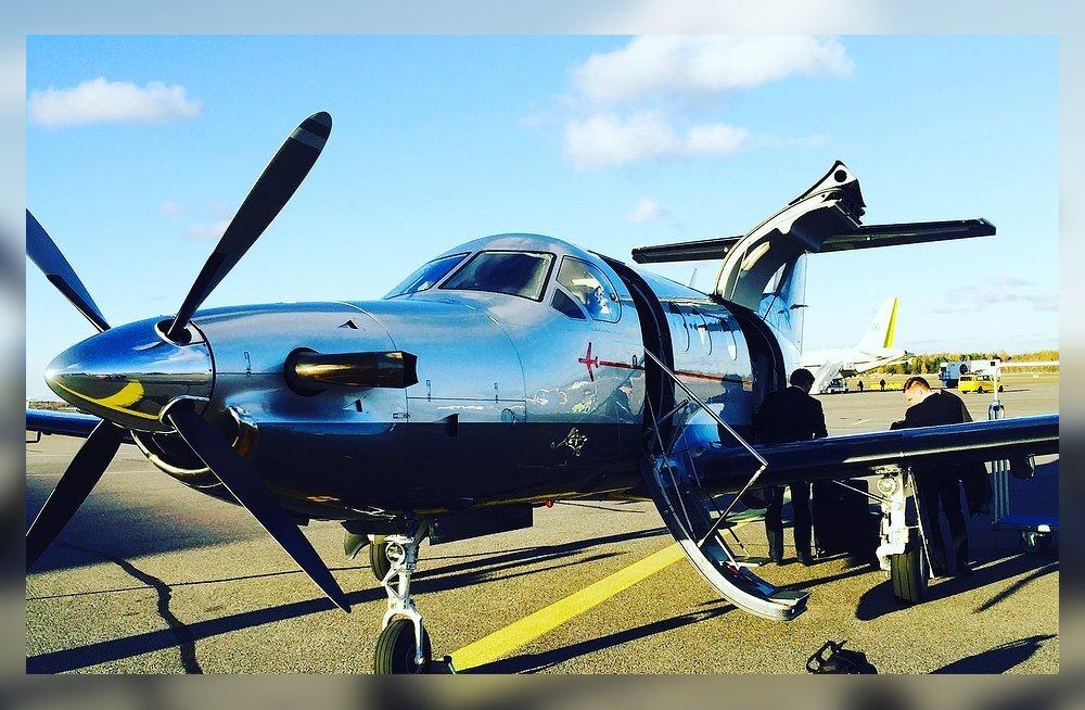 Väikelennukiga Tallinna-Helsingi lende lubanud Soome vormeliässa osalusega firma maandus kõhule
