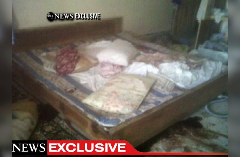 Osama bin Laden tapeti laskudega pähe ja rinda