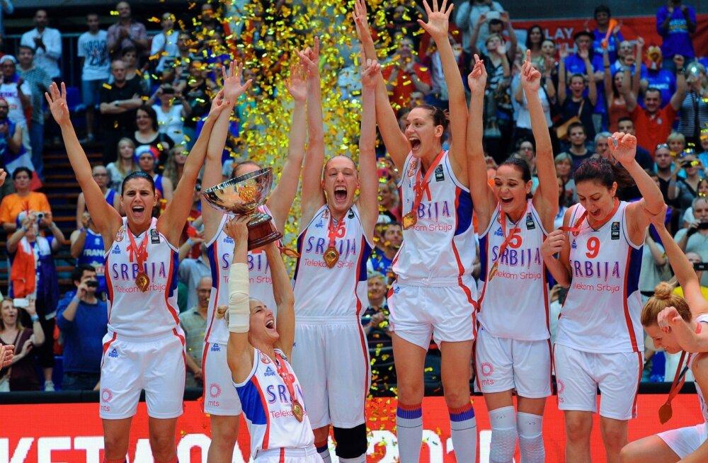 Serbia korvpallinaiskond