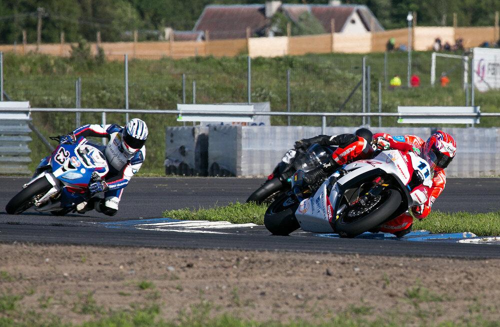 Nr 11 Hanno Velt, Superbike 2014 Eesti meister.