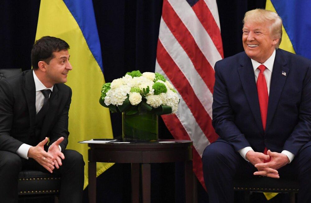 Ukraina president peab Trumpiga avaldatud kõne üle head nägu tegema