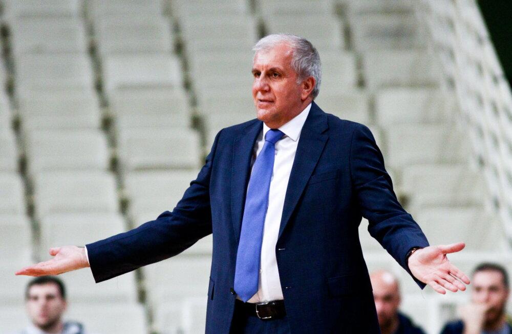 Željko Obradovic järjekordsest kaotusest: me ei saa niimoodi jätkata
