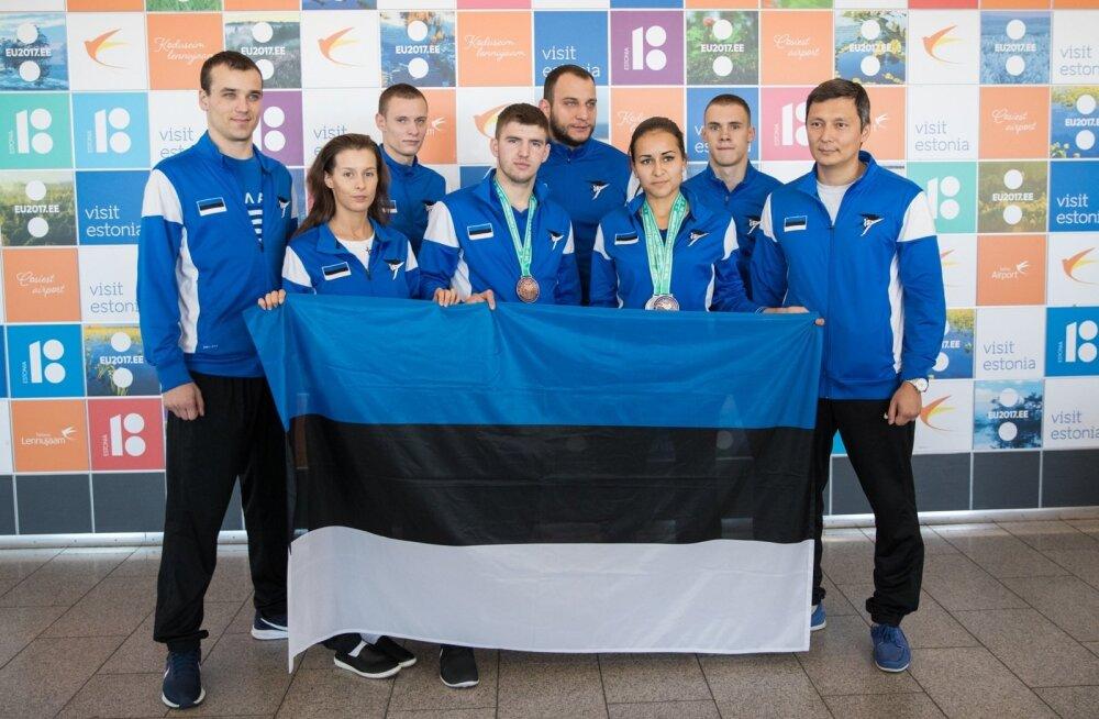 Eesti koondis saabub taekwondo MM-ilt