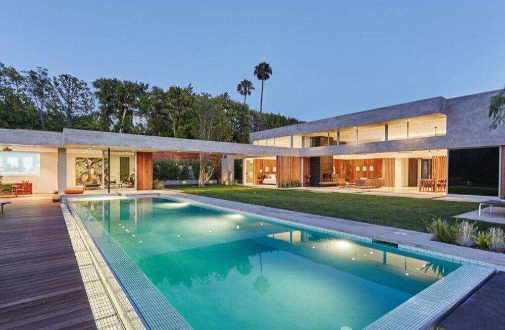 Naomi Osaka villa Beverly Hillsis