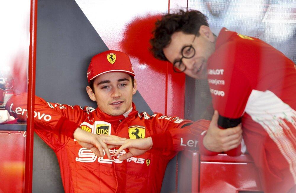 Ferrari boss: Charles Leclerc saab peagi oma esimese võidu kätte