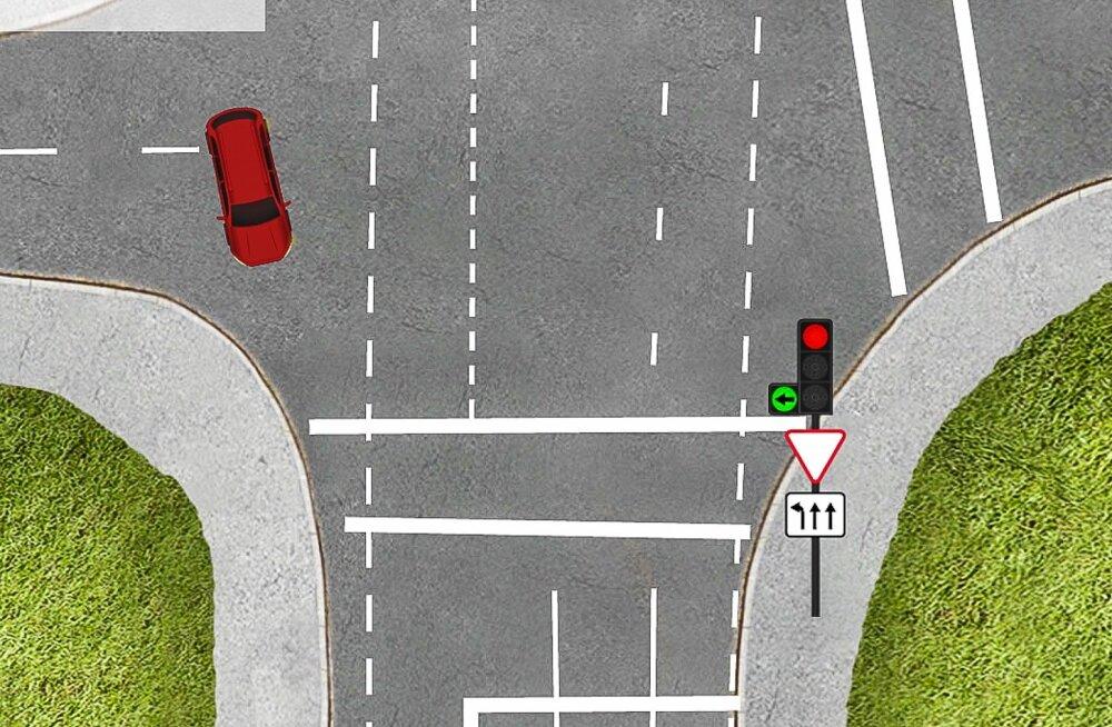 LIIKLUSÜLESANNE | 12. liiklusülesande õige lahenduse selgitus