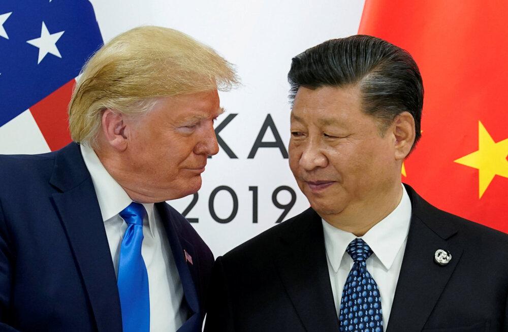 USA ja Hiina vahetavad sanktsioonidega hoope, Hongkongi privileegid kaovad
