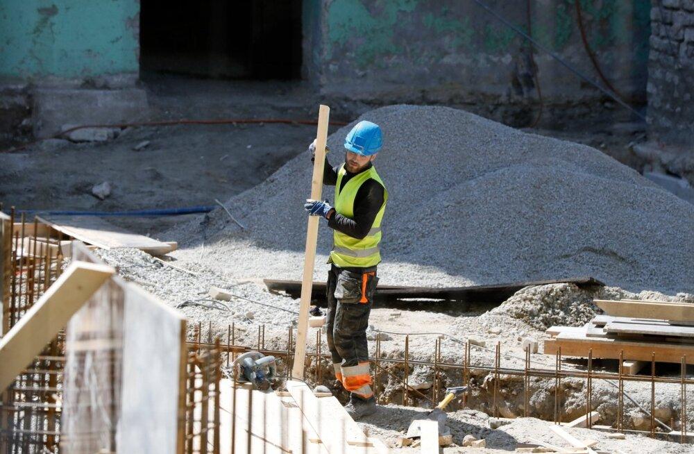 Ehitushinnaindeksit mõjutas enim materjalide ja tööjõu kallinemine
