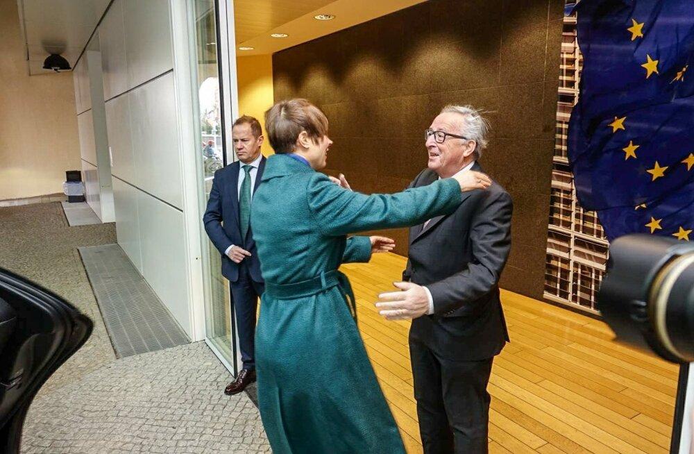 Kaljulaid ja Juncker