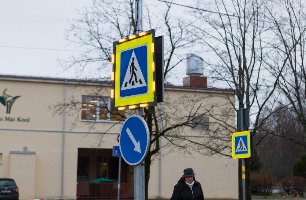 Teed tuleb ületada ülekäigurajal, mitte selle lähistel.