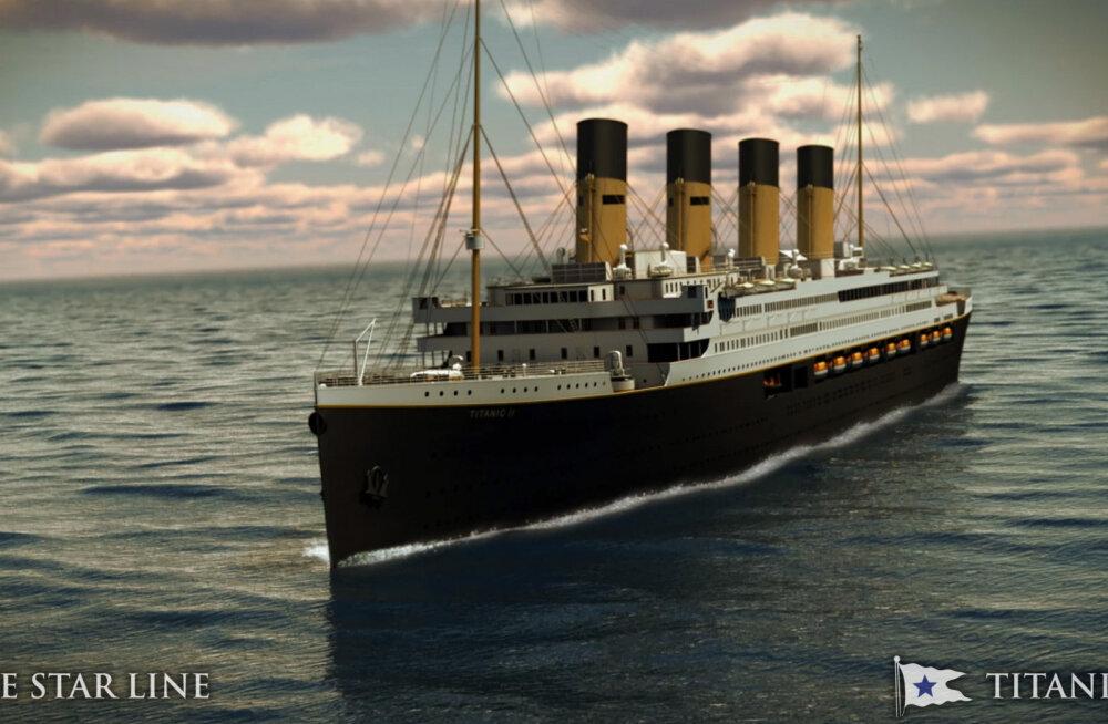 """В Китае построят второй """"Титаник"""". От идеи имитировать столкновение с айсбергом отказались"""