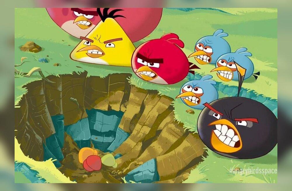 В смартфонах Nokia под Windows не будет новой игры Angry Birds?