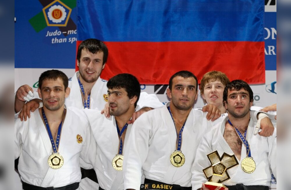 Venemaa judokad