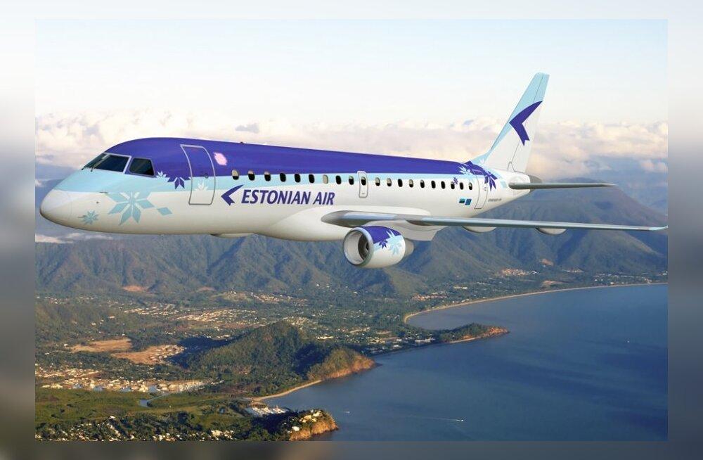 Компания Estonian Air намерена продолжить летать в Москву, Питер и Киев
