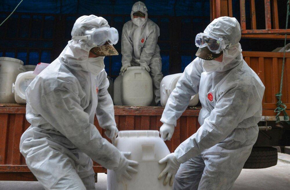 Wuhani viirus sai ametliku nime, Hiina lubab, et aprilliks on epideemia läbi