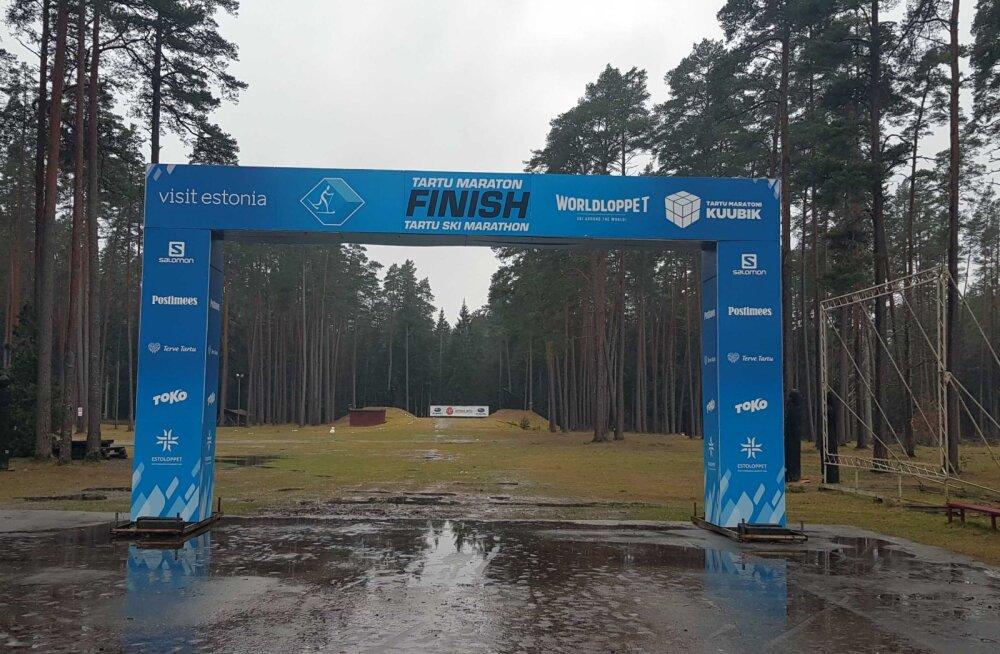 AMETLIK   Tartu Maraton jääb lumepuudusel ära, pühapäeval toimub jalgsimatk