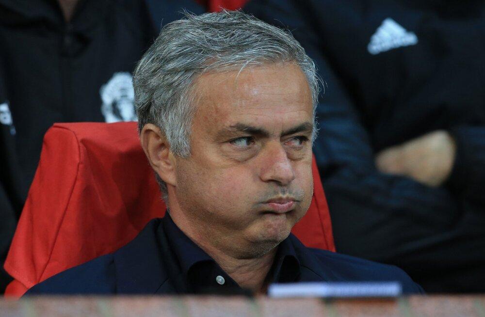 Mourinho varahommikune pressikonverents kestis vaid kolm ja pool minutit