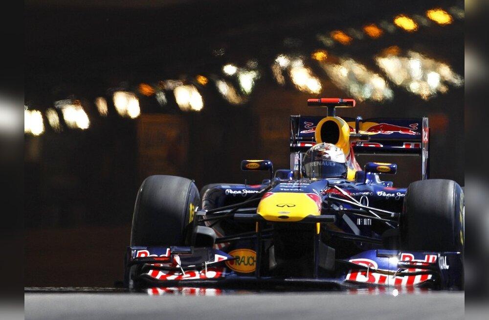 Kanada GP kvalifikatsioon: Vetteli ülemvõim jätkub