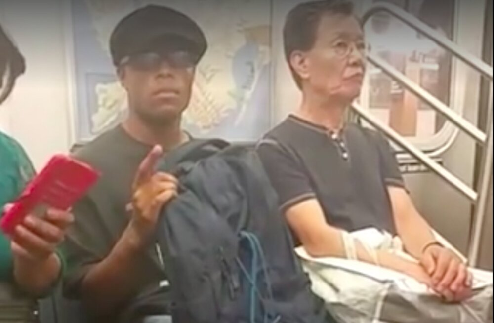 HITTVIDEO: Karmi ütlemisega vapper proua võttis kätte ja häbistas metrooperverti kogu maailma nähes