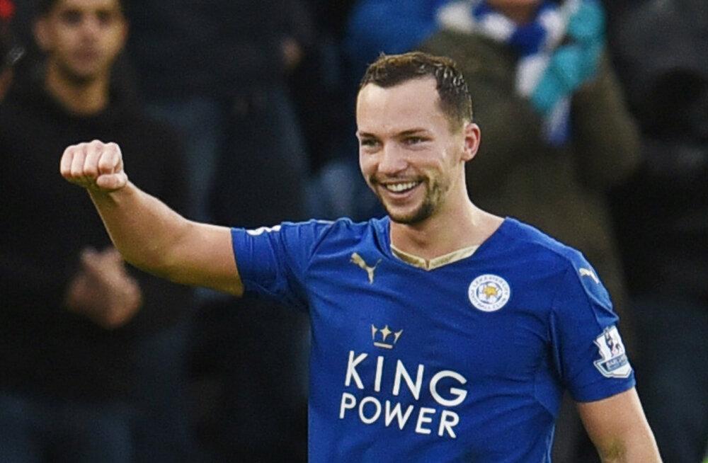 Leicesteri poolkaitsja Danny Drinkwater teenis esimese koondisekutse