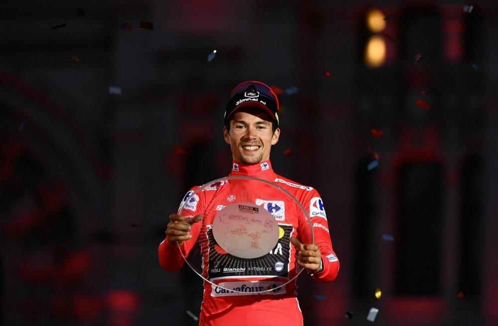 Vuelta üldvõitja Primož Roglic.