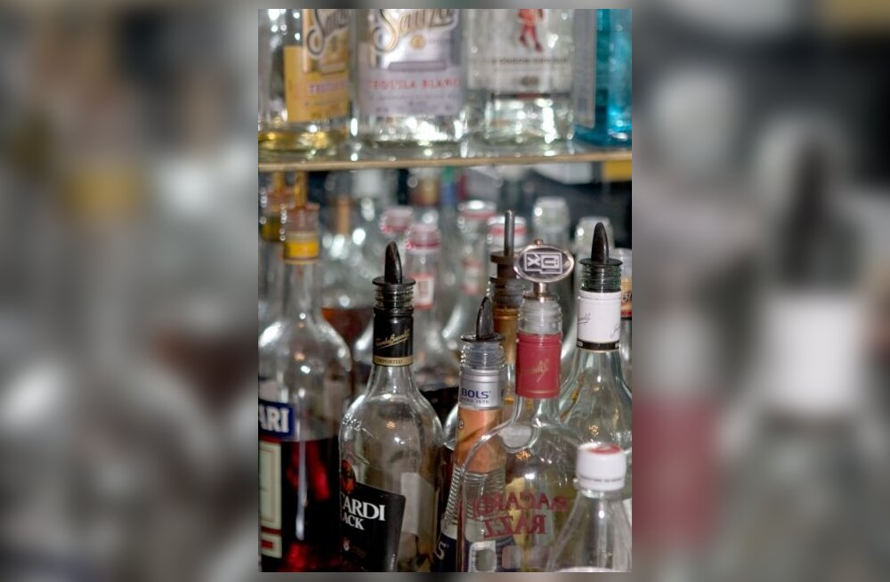 pudelid, alkohol