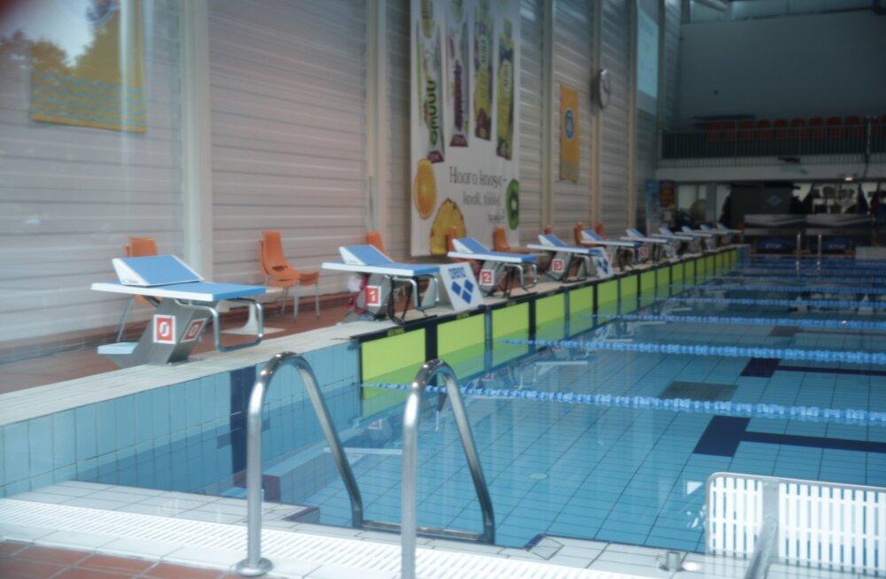 Aura keskuse veekontroll lükkas edasi ujumise meistrivõistlused
