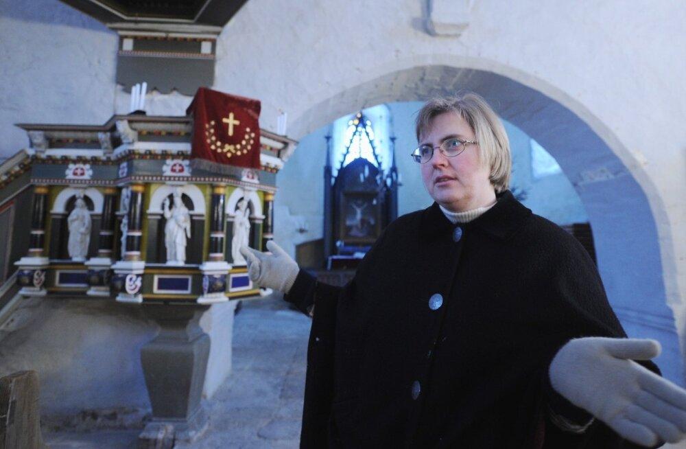 Risti koguduse õpetaja  Annika Laats