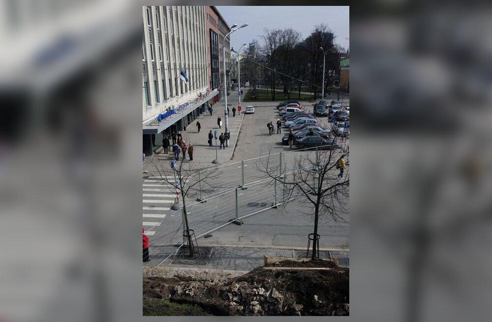На Вабадузе начнутся работы по строительству парковки