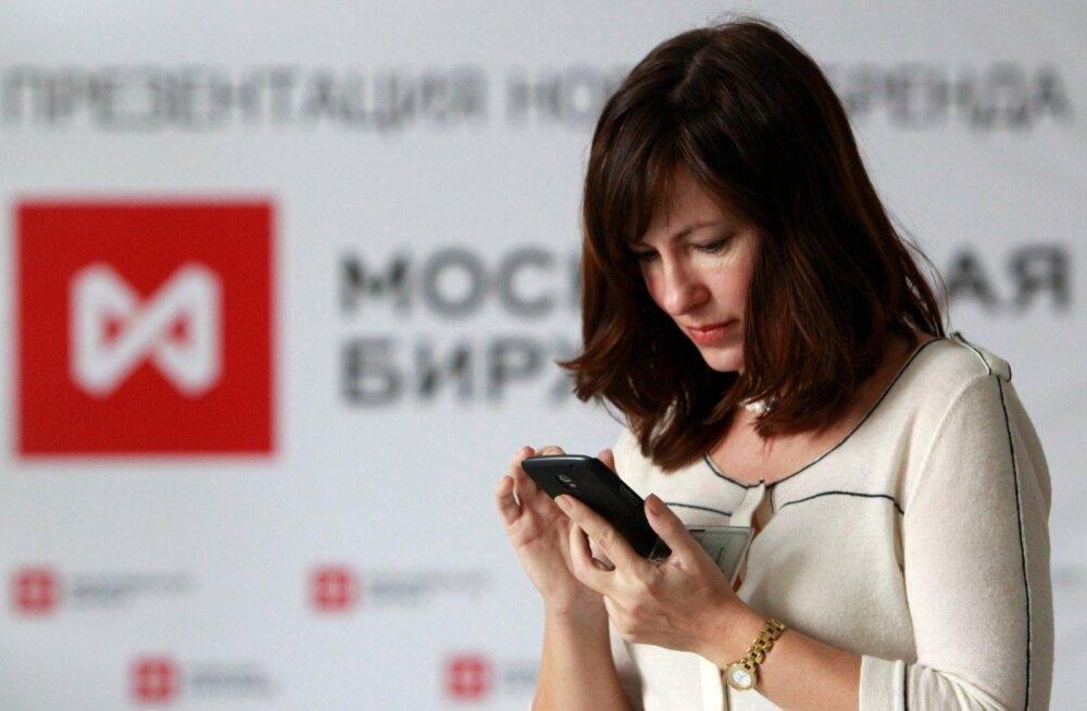 Moskva börs.
