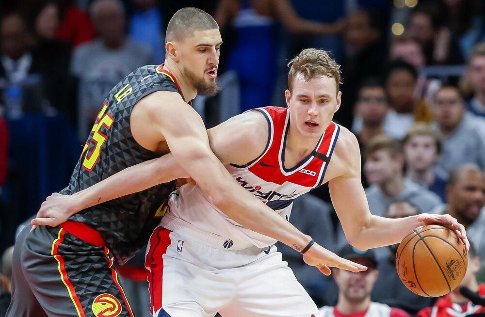 Lätlaste kõva tase: ka keskpärane korvpallur võib välja jõuda NBA-sse