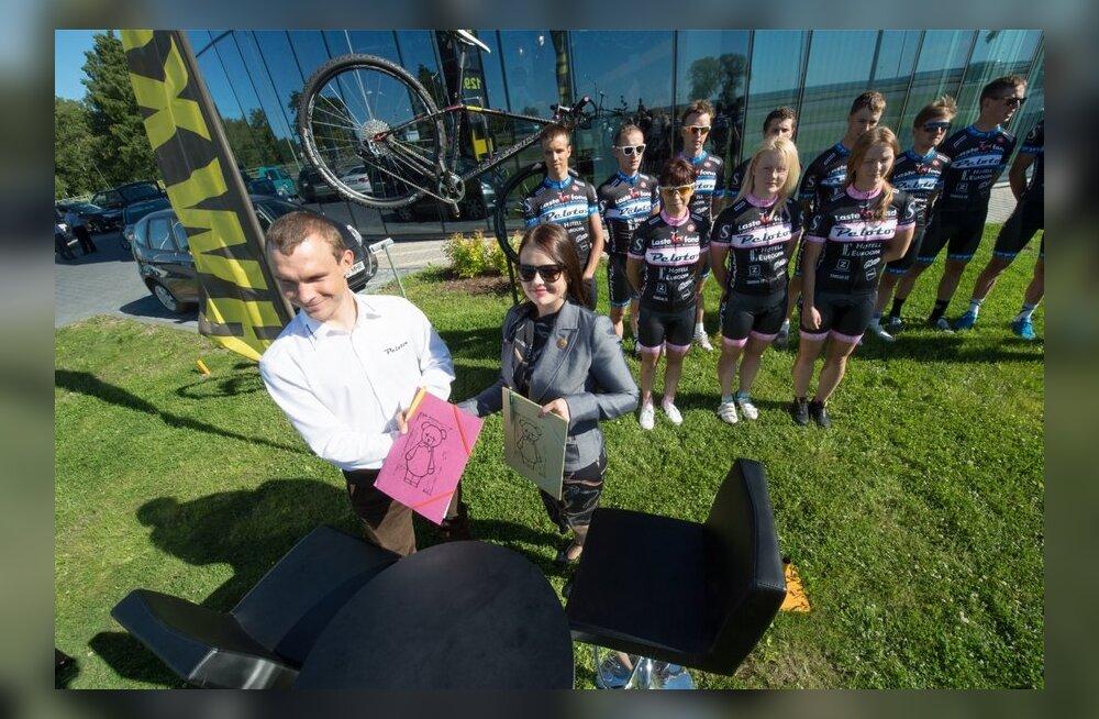 Jalgrattaklubi Peloton koostööleping TÜ Kliinikumi Lastefondiga