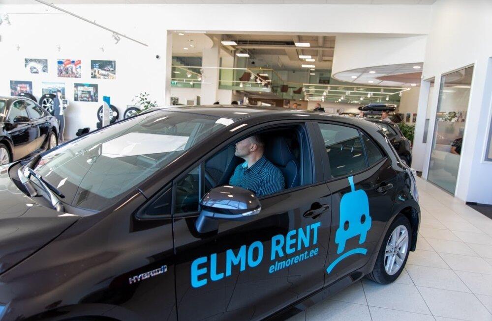 ELMO Rent sai kätte esimesed Toyoto hübriidid