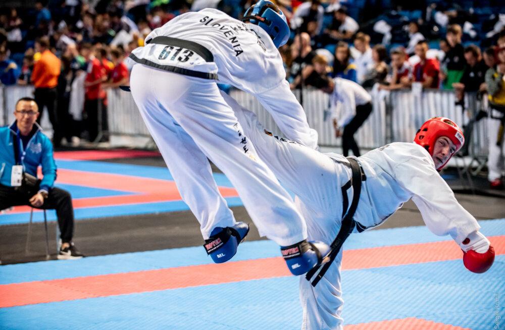 Eesti taekwondo koondis püstitas uue rekordi