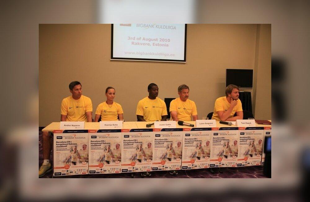 Kuldliiga pressikonverents