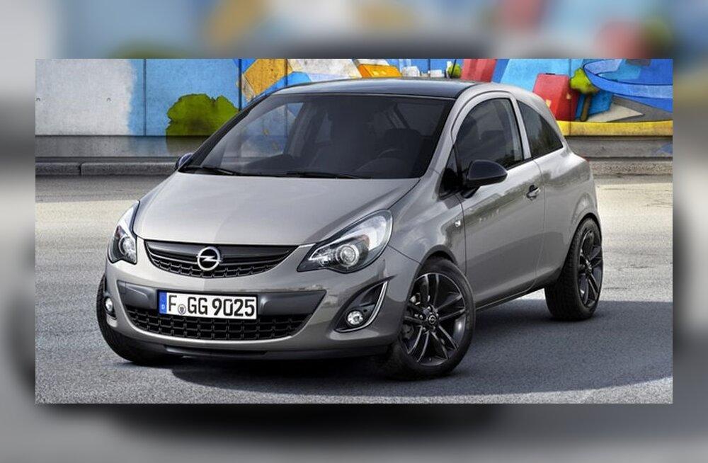 Opel Corsa sai isikupärasema välimuse
