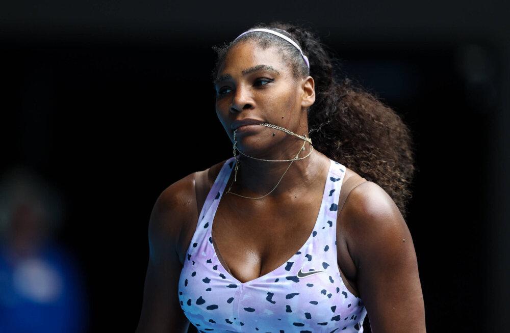 Serena Williams kirjeldas oma esimest suudlust: see oli mu elu üks kohutavamaid kogemusi