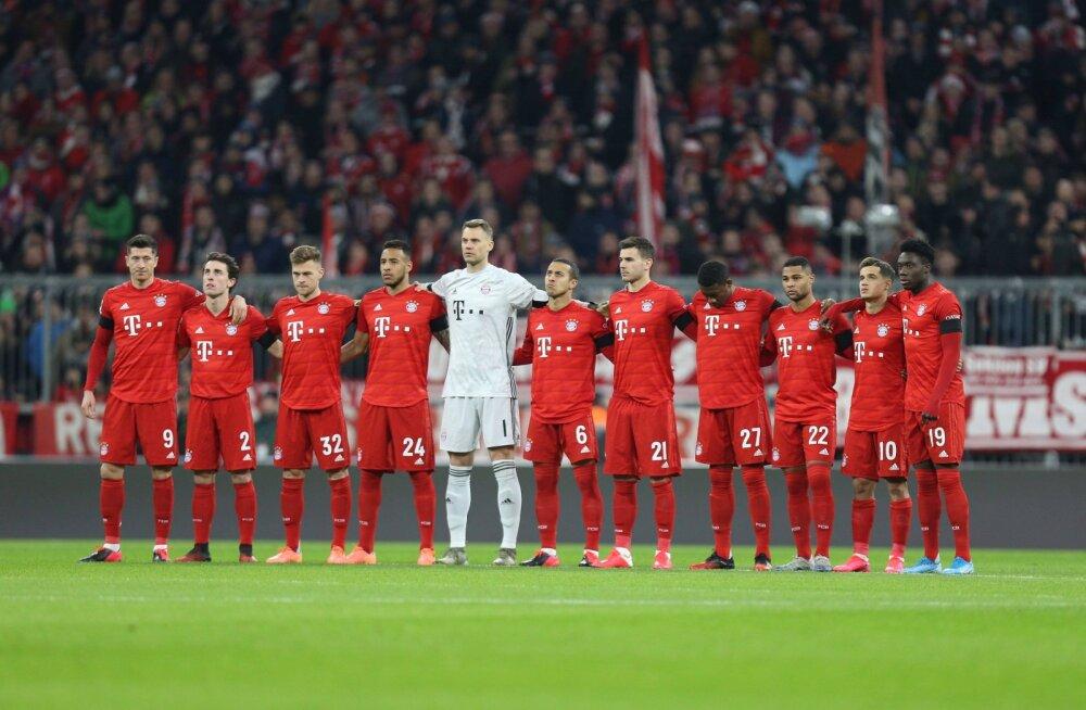 Müncheni Bayerni staadionil suri 1-aastane tüdruk