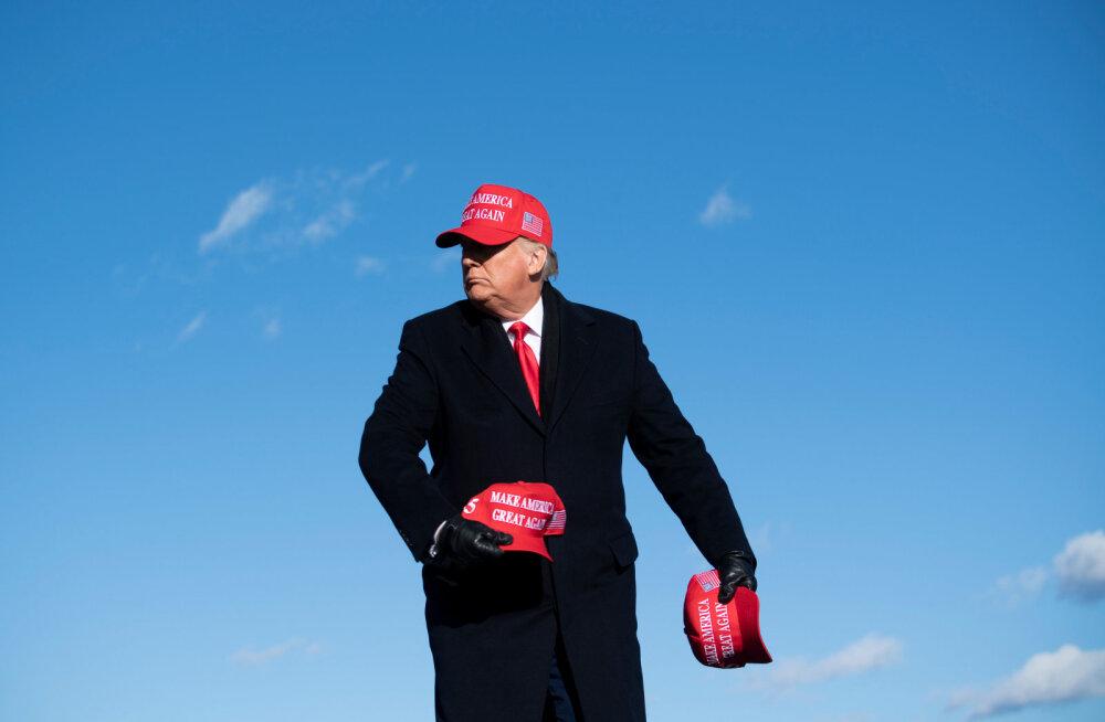 Trump lubas kõige suurepärasemat majandusaastat USA ajaloos, aga Bideni sõnul on tal aeg kohvrid pakkida