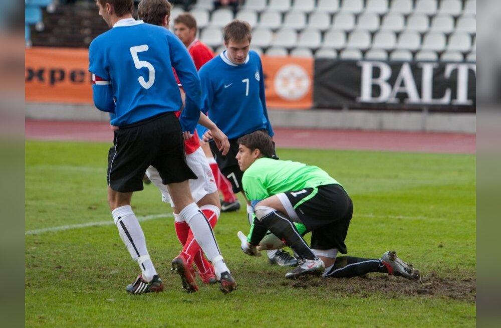 Selgus U-21 koondise lõplik koosseis Balti turniiriks