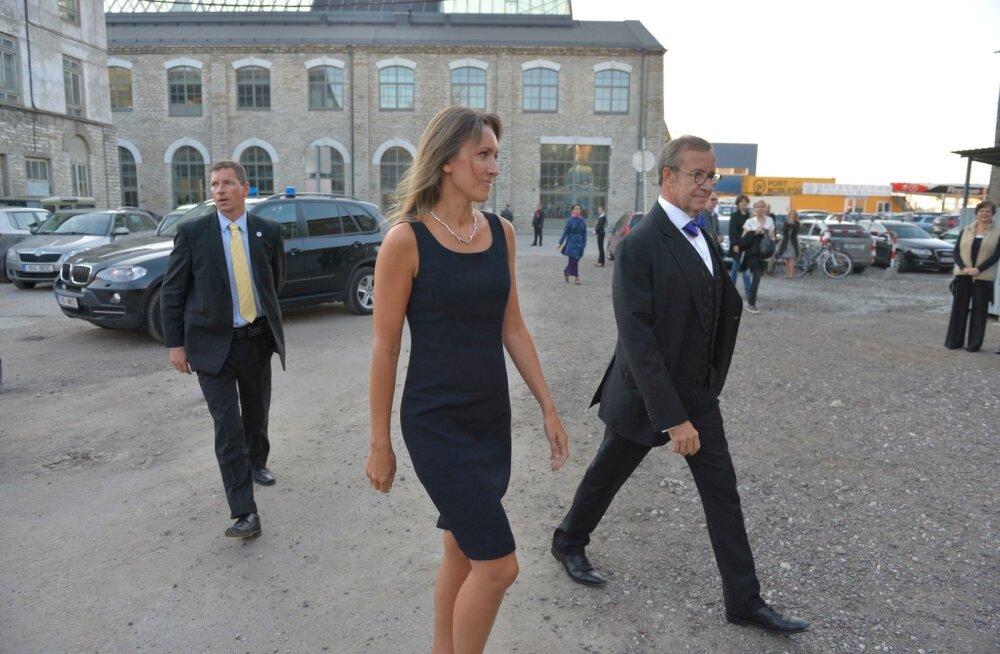 Toomas Hendrik Ilves ja Ieva Kupce